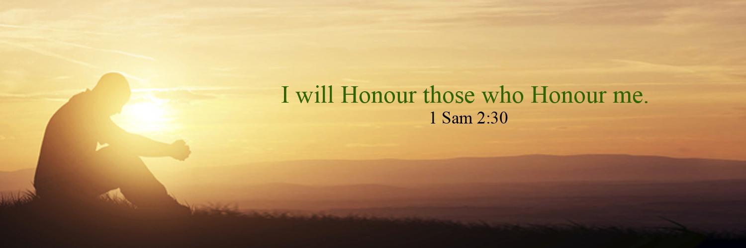 GOD honors those who honours him